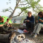 camping jungle bardia national park