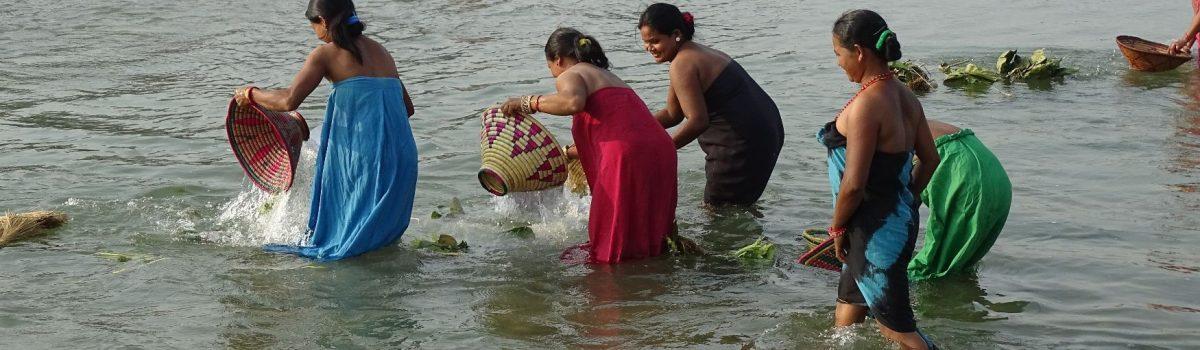 Tharu offer Dashain Bardia National Park