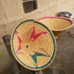 Tharu basket handicraft Bardia National Park