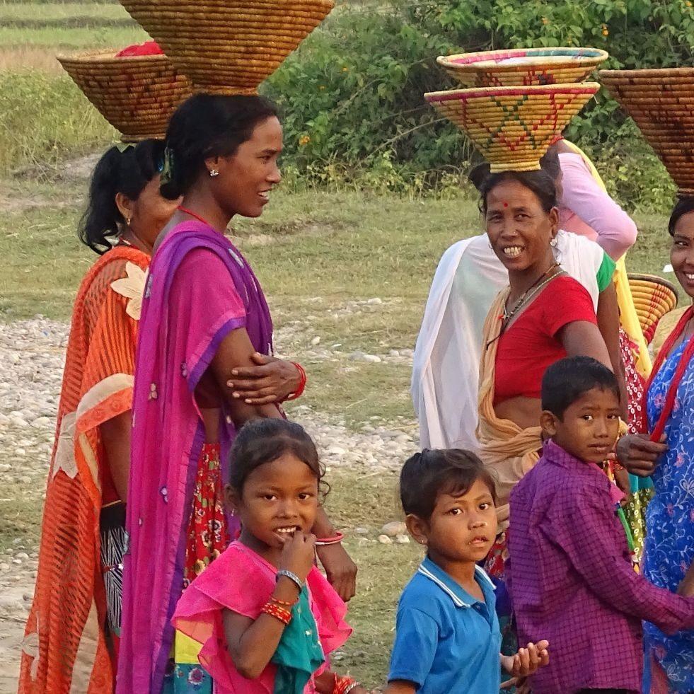 Tharu women Bardia National Park