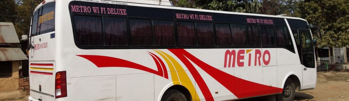 transport bus Bardia National Park