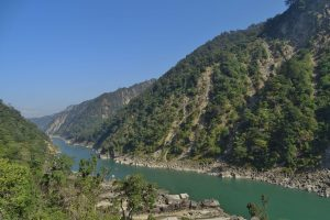 Karnali river Far West Nepal