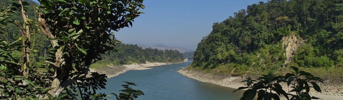 Karnali river Far West Nepal