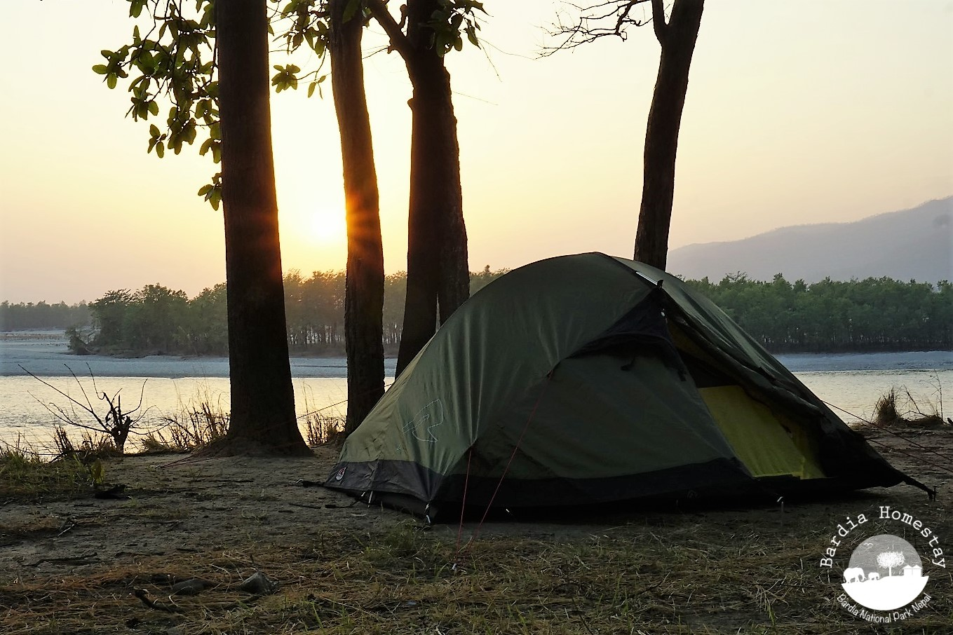 Camping Bardia National Park