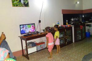 Children dancing on Teej movies