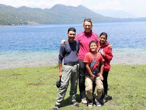 Bardia Homestay expediton team at 'Rara'