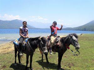On a horse to Rara Lake