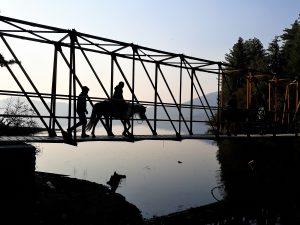 Horse ride Rara Lake